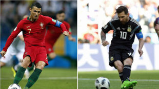 Who would you choose between Ronaldo and Messi?