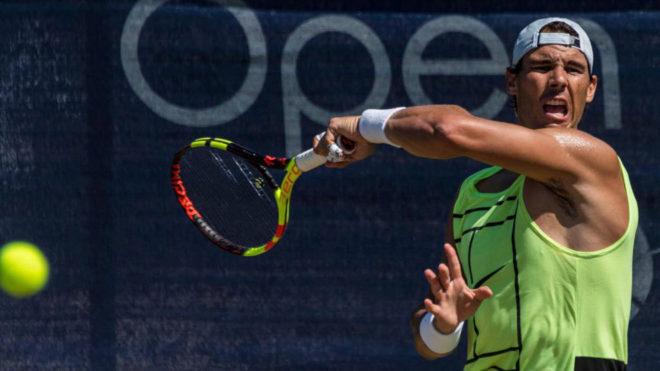Nadal: Una posible final con Federer queda muy lejos