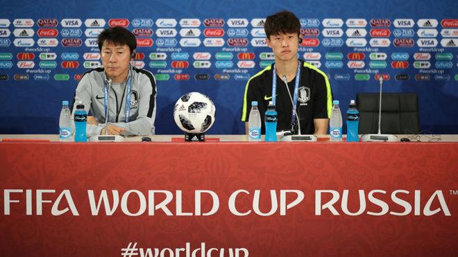 Lee Jae-Sung en conferencia de prensa