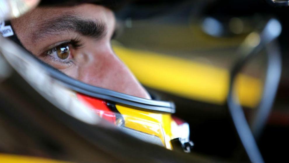Carlos Sainz (Renault Sport), en los libres del GP de Francia.