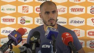 Guido Pizarro, en conferencia de prensa