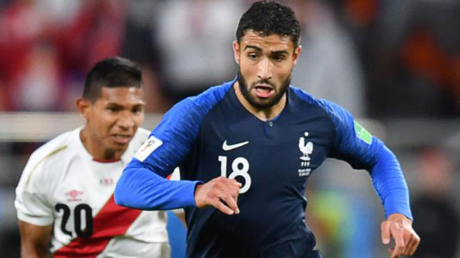 Transfer market lyon president claims real madrid are interested in nabil fekir controls the ball during the match between france and peru stopboris Image collections