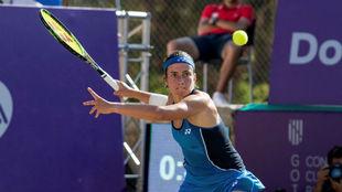 Anastasija Sevastova, en la semifinal.