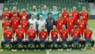 La selección española posa en la nueva foto oficial