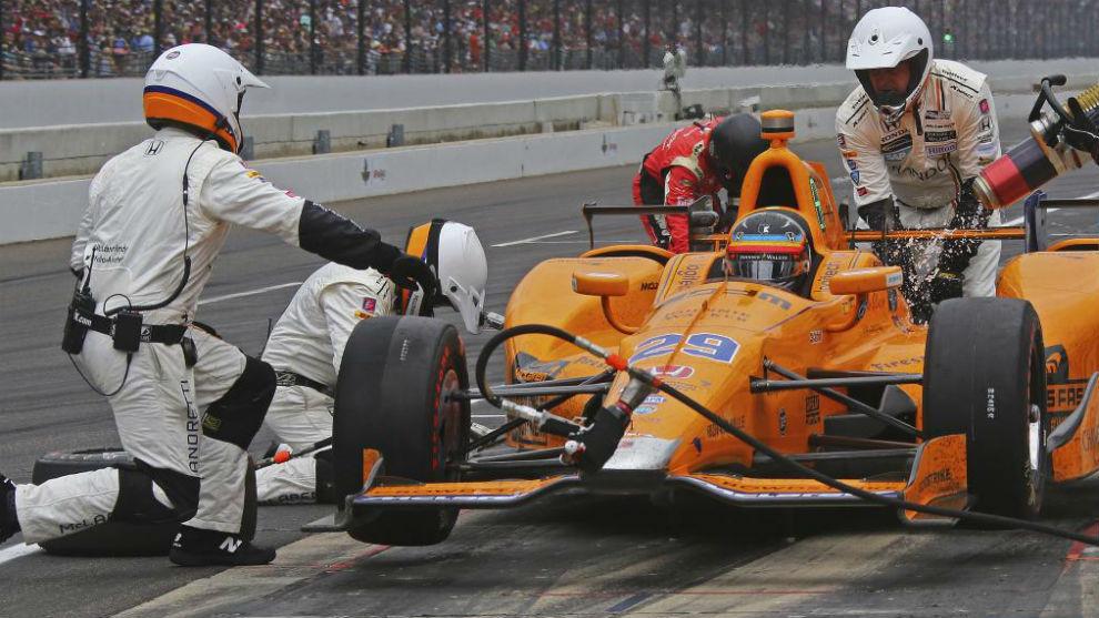 Alonso, en la Indy sobre el Andretti Autosport-Honda