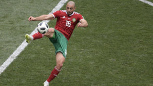 Nordin Amrabat, en un partido de este Mundial.