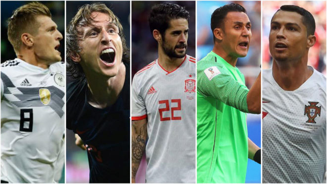 Fifa world cup 2018 real madrid have taken the world cup by storm realaposs players reals players en espaol stopboris Image collections