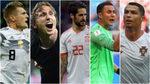 El que más marca, el que más toca, el que más pasa... El Madrid manda en el Mundial