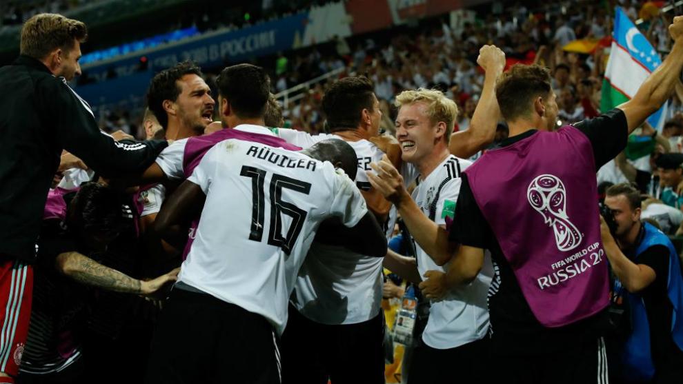 Alemania enfrenta multas por festejos excesivos tras el triunfo contra Suecia