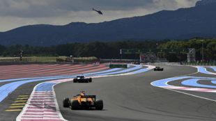 Alonso, durante el GP de Francia.