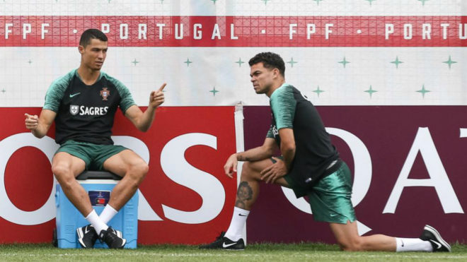 Twitter erupts as Portugal draw against Iran