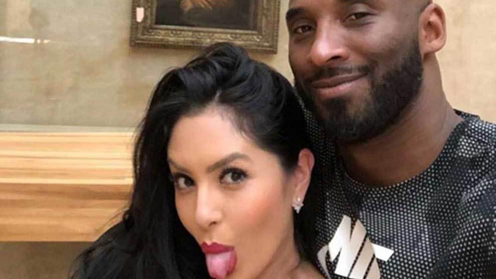 Kobe Bryant, acompañado por su esposa Vanessa y sus hijas, visitó el...