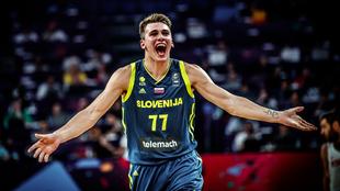 Luka Doncic fue uno de los verdugos de España en el EuroBasket 2017