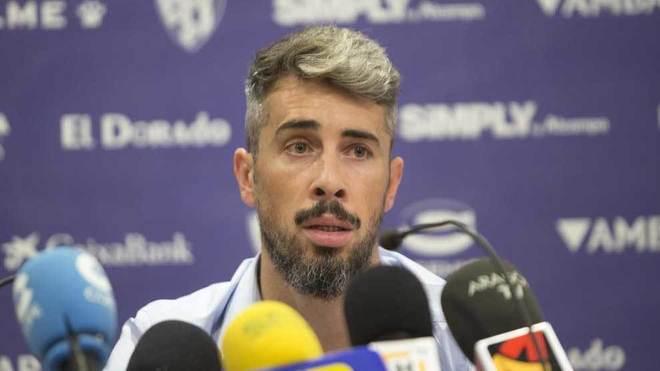 Luisinho, en una rueda de prensa.