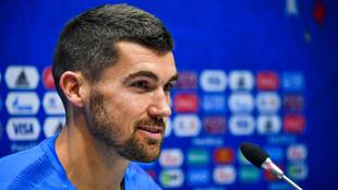 Mathew Ryan, durante una rueda de prensa en el Mundial