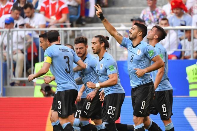 Alegría uruguaya
