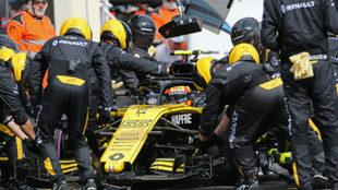 Carlos Sainz, en el circuito Paul Ricard.