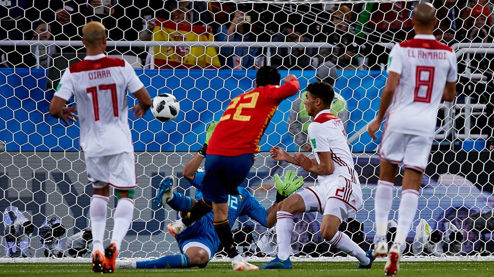 Mundial 2018 Rusia  España - Marruecos  reacciones de los ... ded4e3392b002
