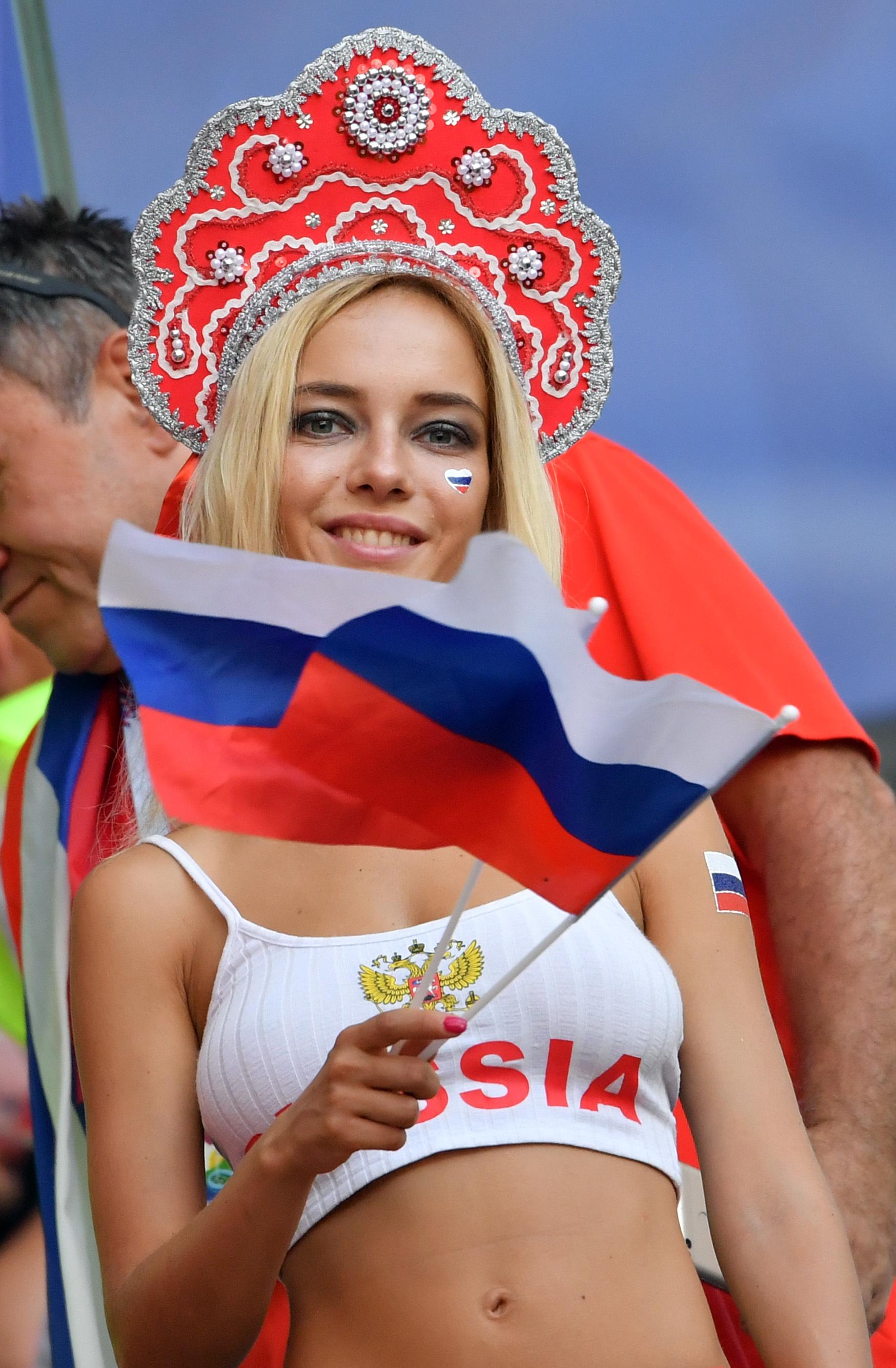 Actrices Porno Rusas Joven mundial 2018 rusia: sorpresa x en el mundial: la aficionada
