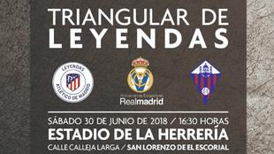 Triangular para celebrar el Centenario de la UD San Lorenzo con los. b0432890dc2a6