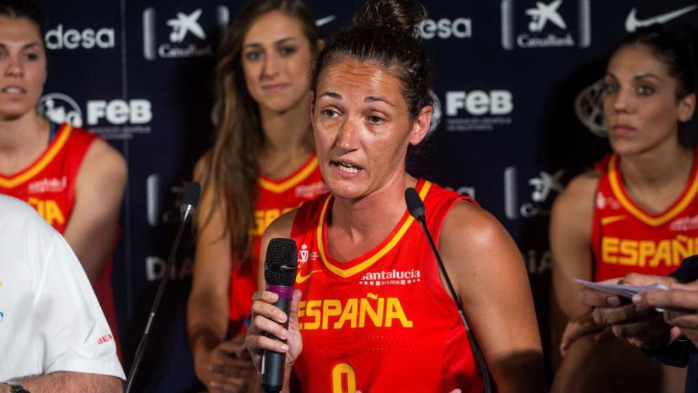 Laia Palau, capitana de la selección femenina.