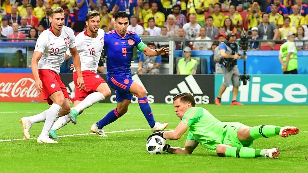 Falcao logró marcar un gol ante Polonia por lo que ya se ha estrenado...