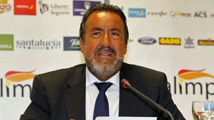 Miguel Carballeda, durante un acto del Comité Paralímpico Español