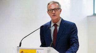 José Guirao, en un acto en el Consejo Superior de Deportes
