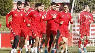 Calavera, Jony, Carmona, Juan Rodríguez, Canella, Castro y Sergio,...