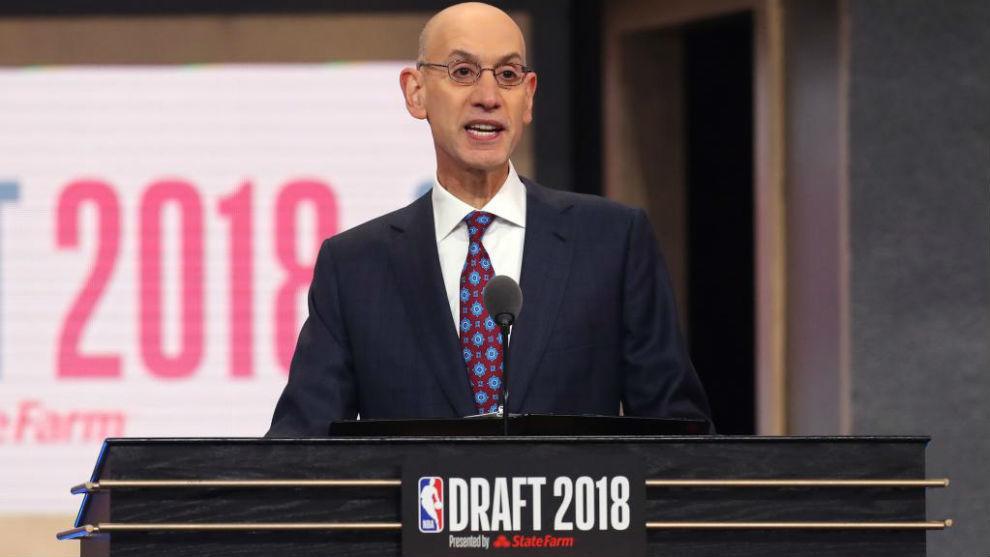 Adam Silver será el comisionado de la NBA hasta 2024