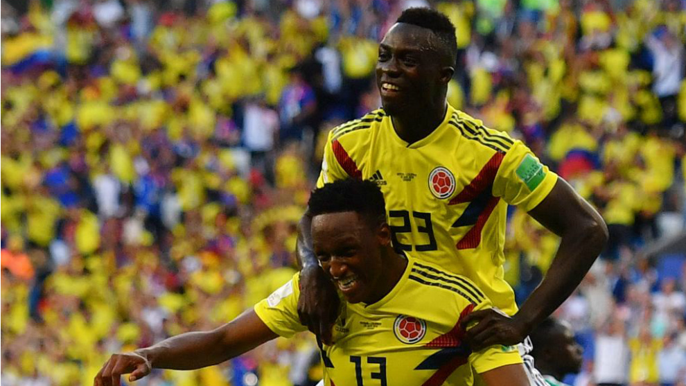 Colombia's Aguilar ruled out against Senegal due to injury