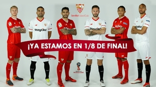 Kjaer (29), Mercado (31), Banega (29), Layún (30), Muriel (27) y...