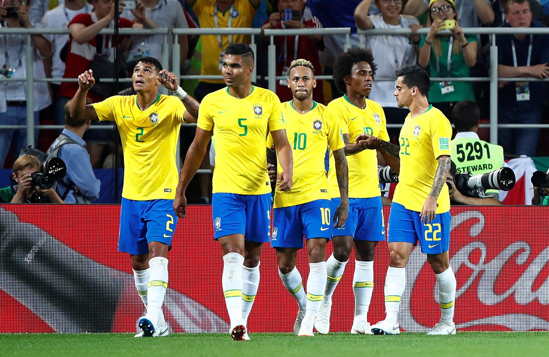 Brasil eliminó a México y los memes se ensañaron con Neymar