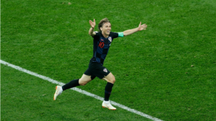 Modric se ha convertido en el eje de Croacia en Rusia 2018 con dos...
