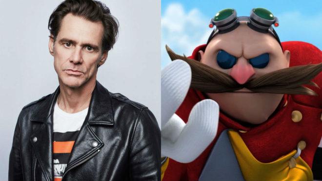 Jim Carrey podría ser Eggman en la película de Sonic