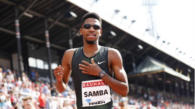 Abderrahman Samba, tras una carrera