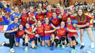 Las 'Guerreras' celebran el oro en los Juegos...