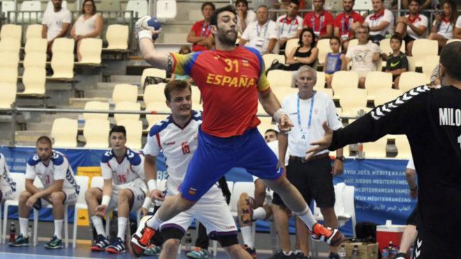 Iosu Goñu lanza ante Croacia