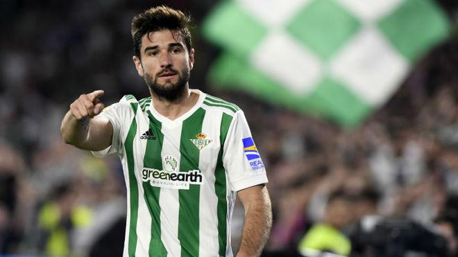 Antonio Barragán, durante un partido del pasado curso.