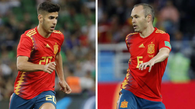 Iniesta y Piqué se despiden de España de triste manera