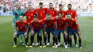 España, ante Rusia.
