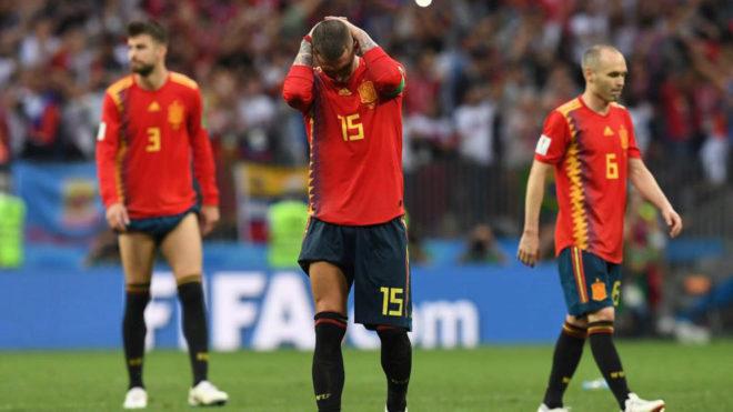 Igor Volley Calendario.Fifa World Cup 2018 Russian Penalty Heroics Knock Spain Out