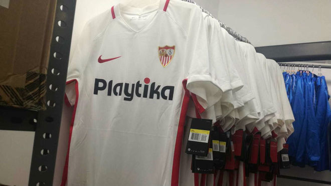 segunda equipacion Sevilla FC futbol