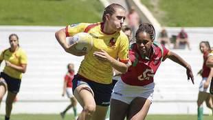 Una imagen de archivo de la selección española de Seven