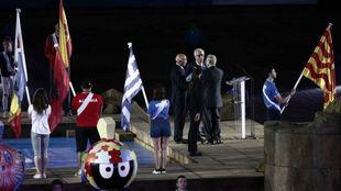 El alcalde de Tarragona, el de Orán y el presidente del Movimiento...