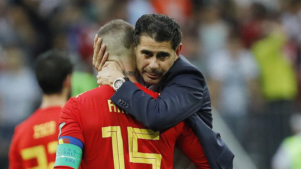 Hierro and Ramos
