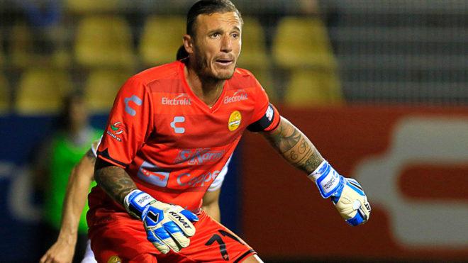 Campestrini fue el portero de Dorados en la división de Ascenso.