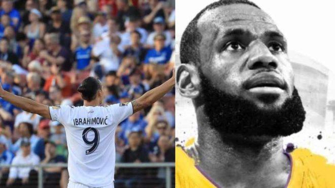 Ibrahimovic & LeBron James