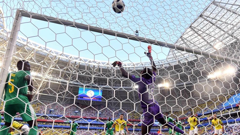 Inglaterra eliminó a Colombia mediante los penales