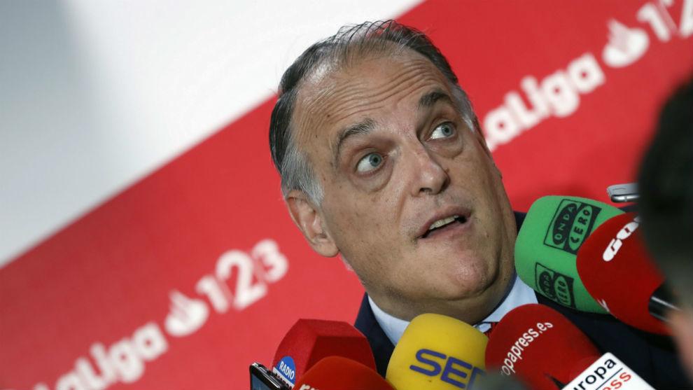 Tebas: Lopetegui's dismissal was hasty